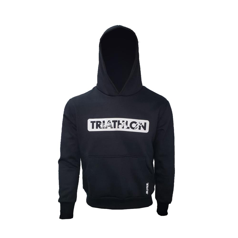 Moletom Triathlon Slyke Kona Preto Unissex