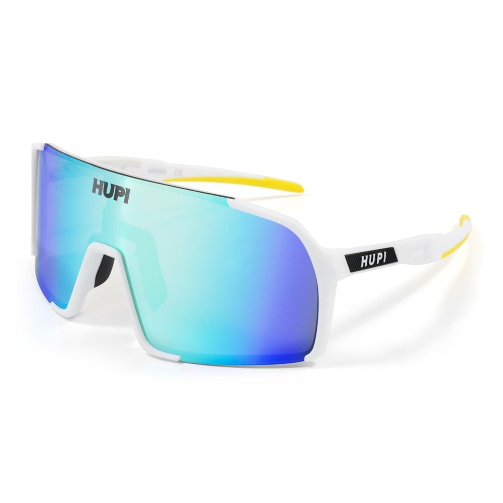 Óculos de Sol Hupi Andez Branco/ Amarelo