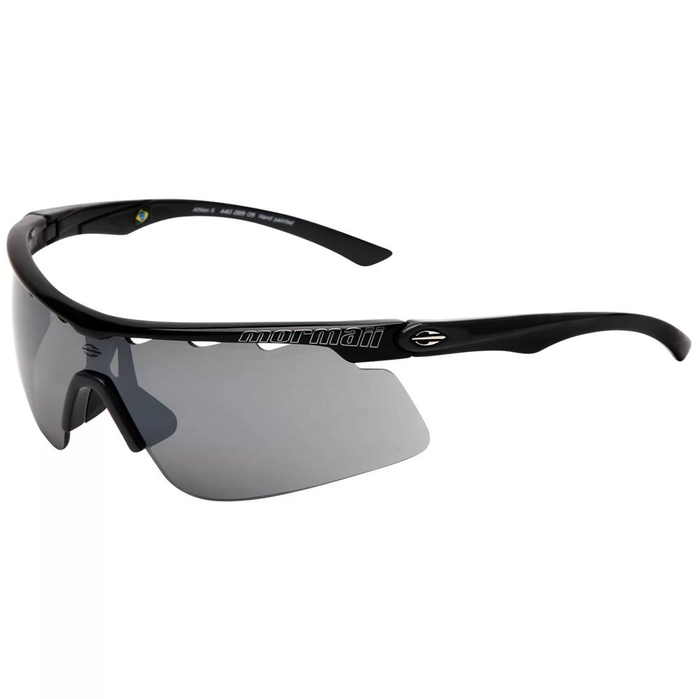 Óculos de Sol Mormaii Athlon II Preto com Cinza