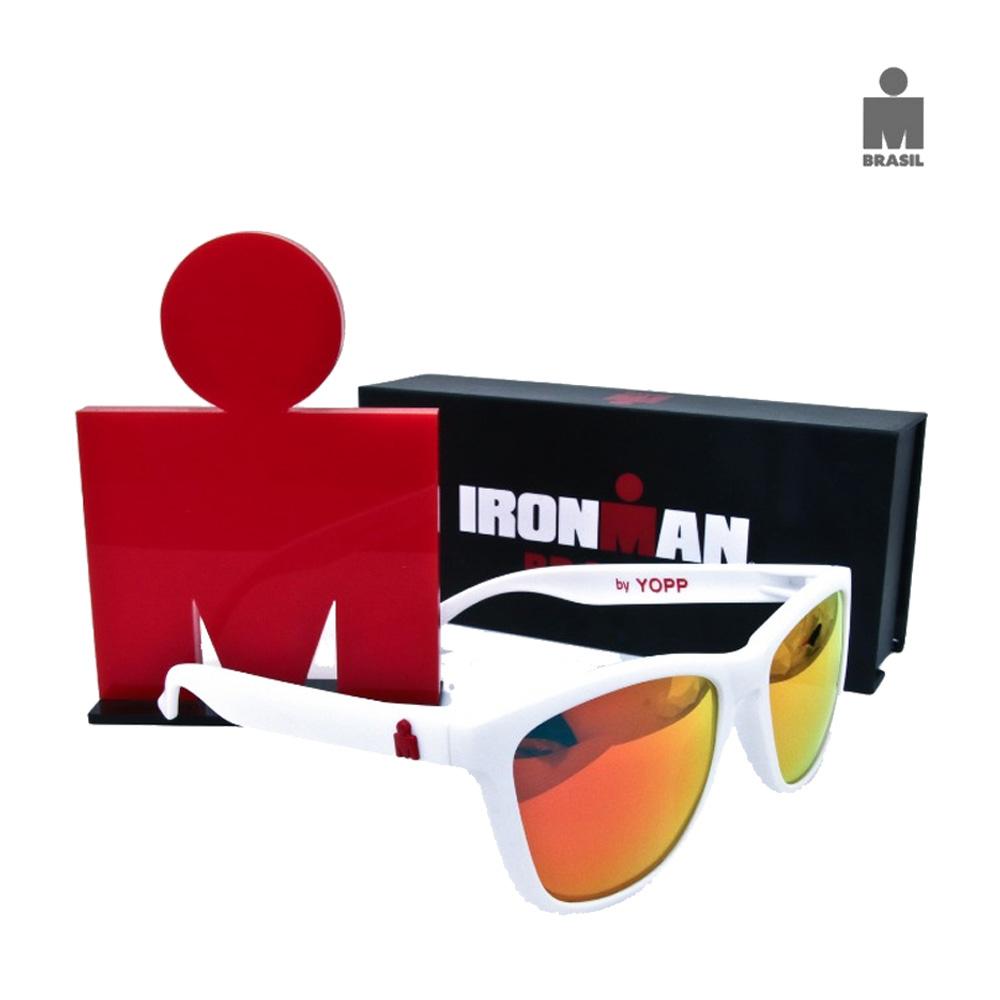 Óculos Esportivo Adulto Yopp IronMan Branco
