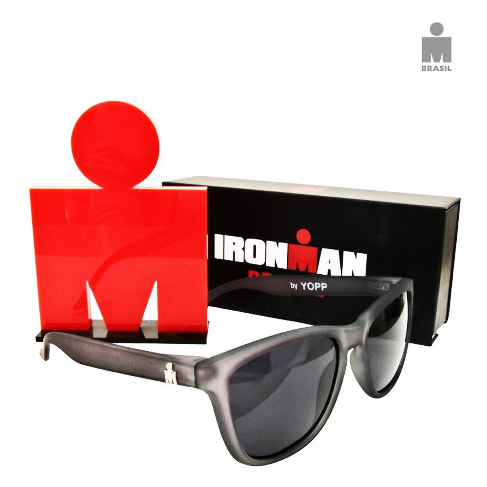 Óculos Esportivo Adulto Yopp IronMan Cinza