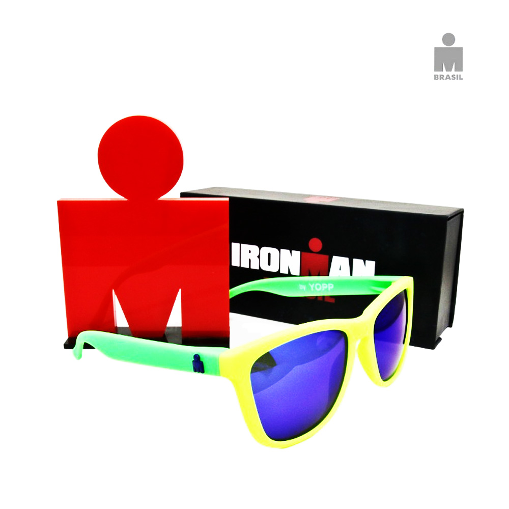 Óculos Esportivo Adulto Yopp IronMan Verde