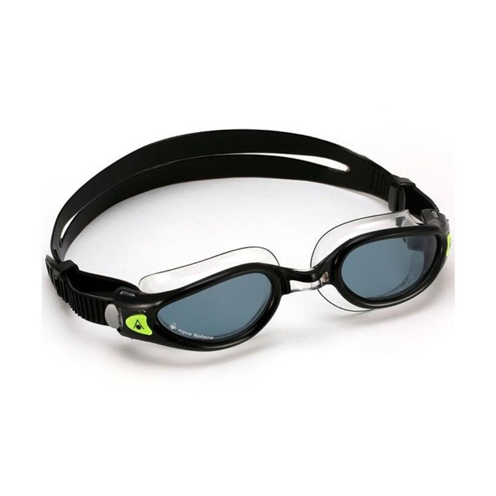 Óculos Natação Aqua Sphere Kaiman Exo Preto/Transparente Lente Fumê