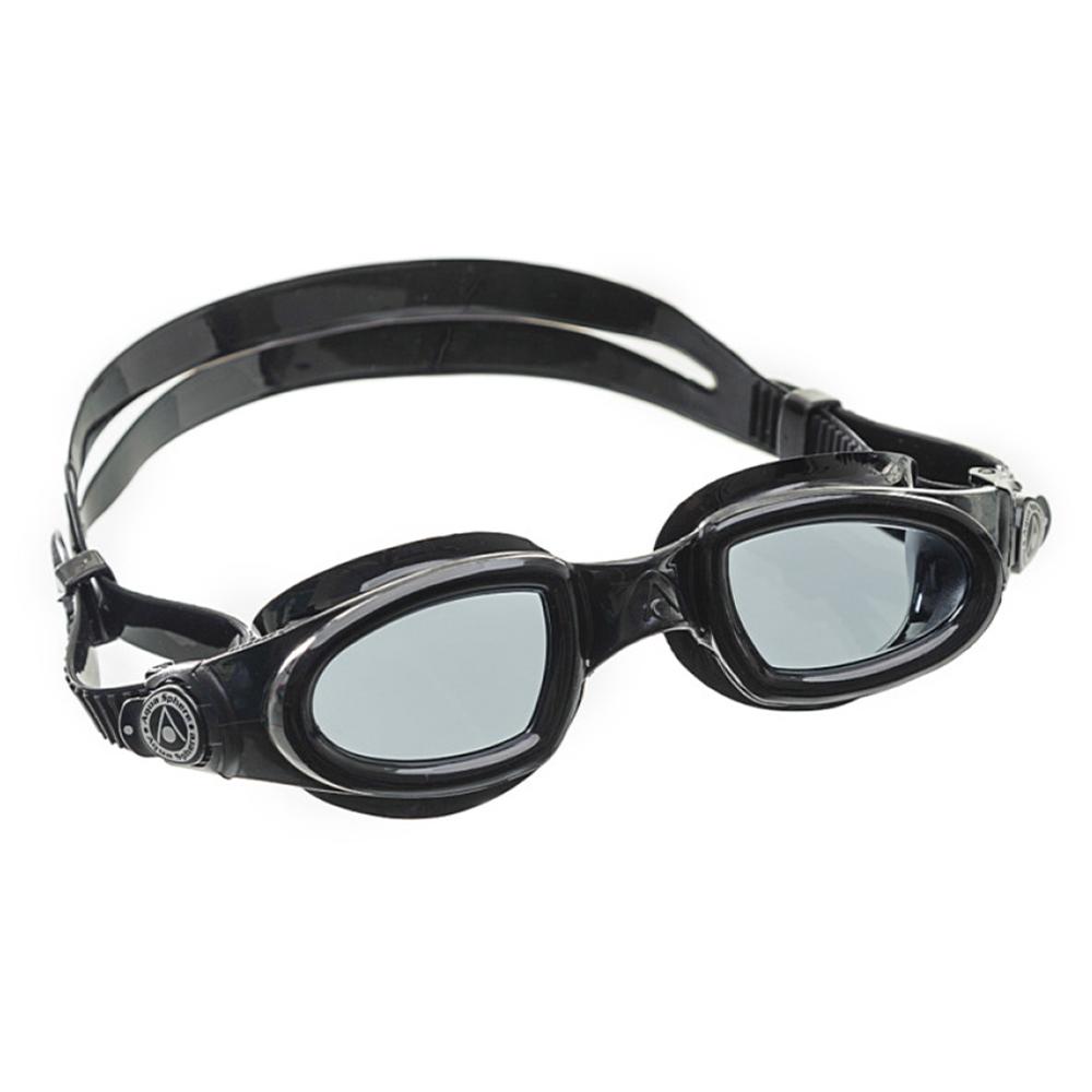 Óculos Natação Aqua Sphere Mako Preto Lente Fumê