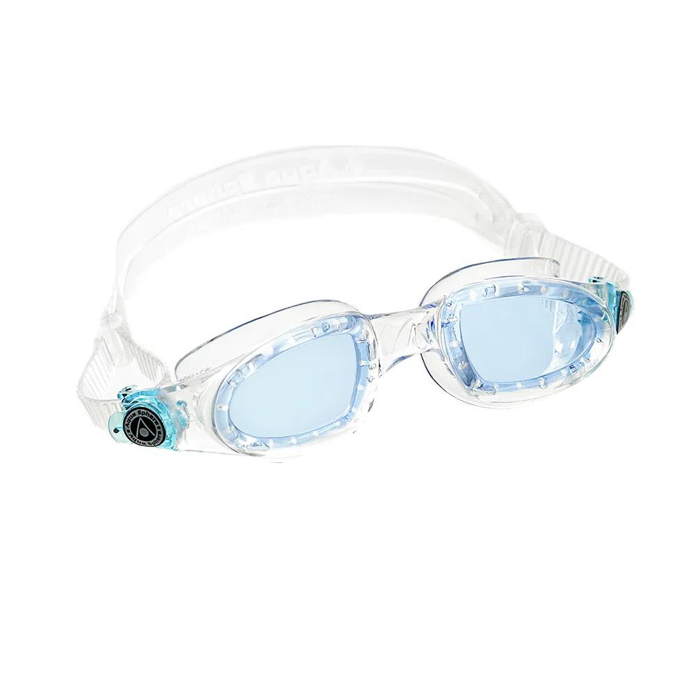 Óculos Natação Aqua Sphere Mako Transparente Lente Azul