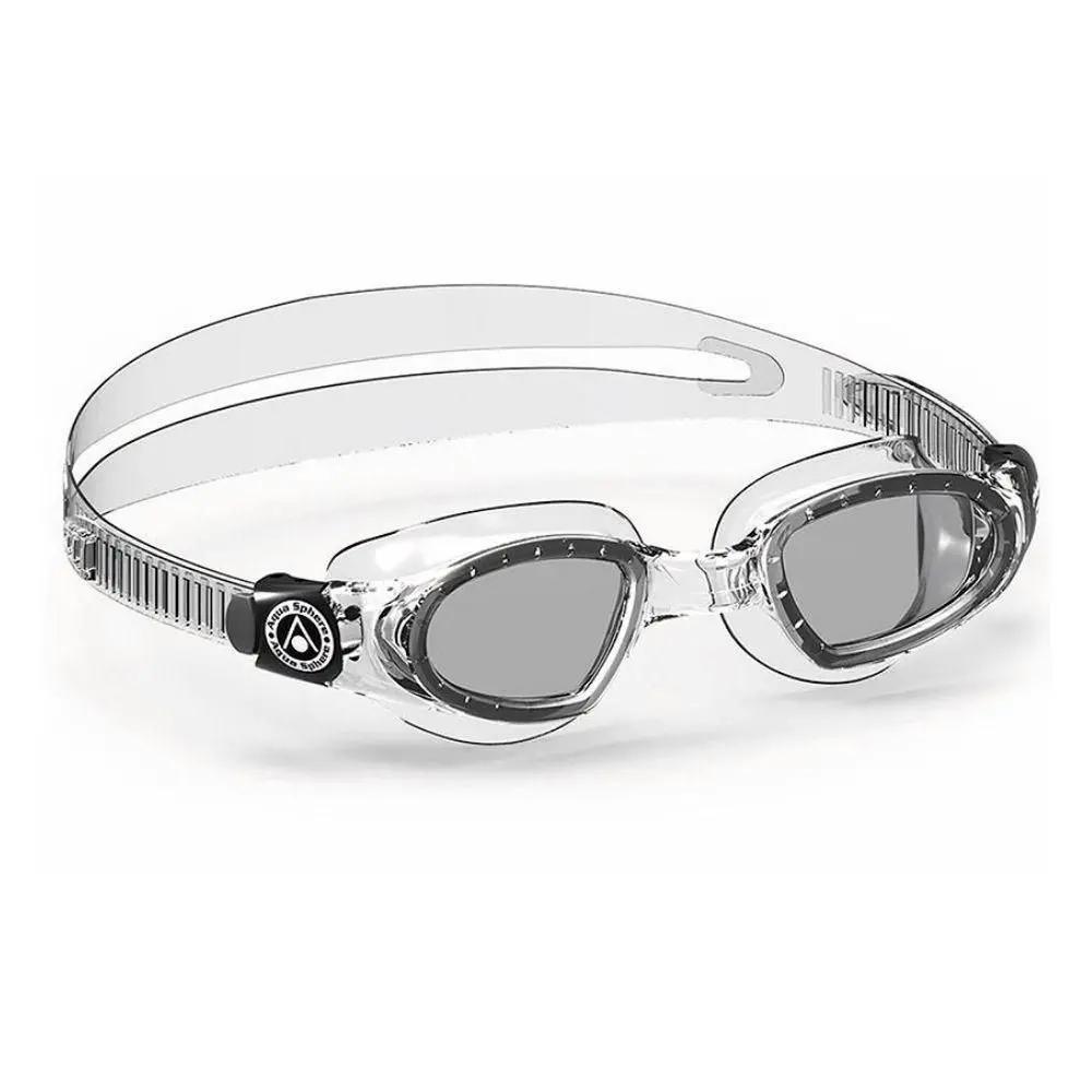 Óculos Natação Aqua Sphere Mako Transparente Lente Fumê