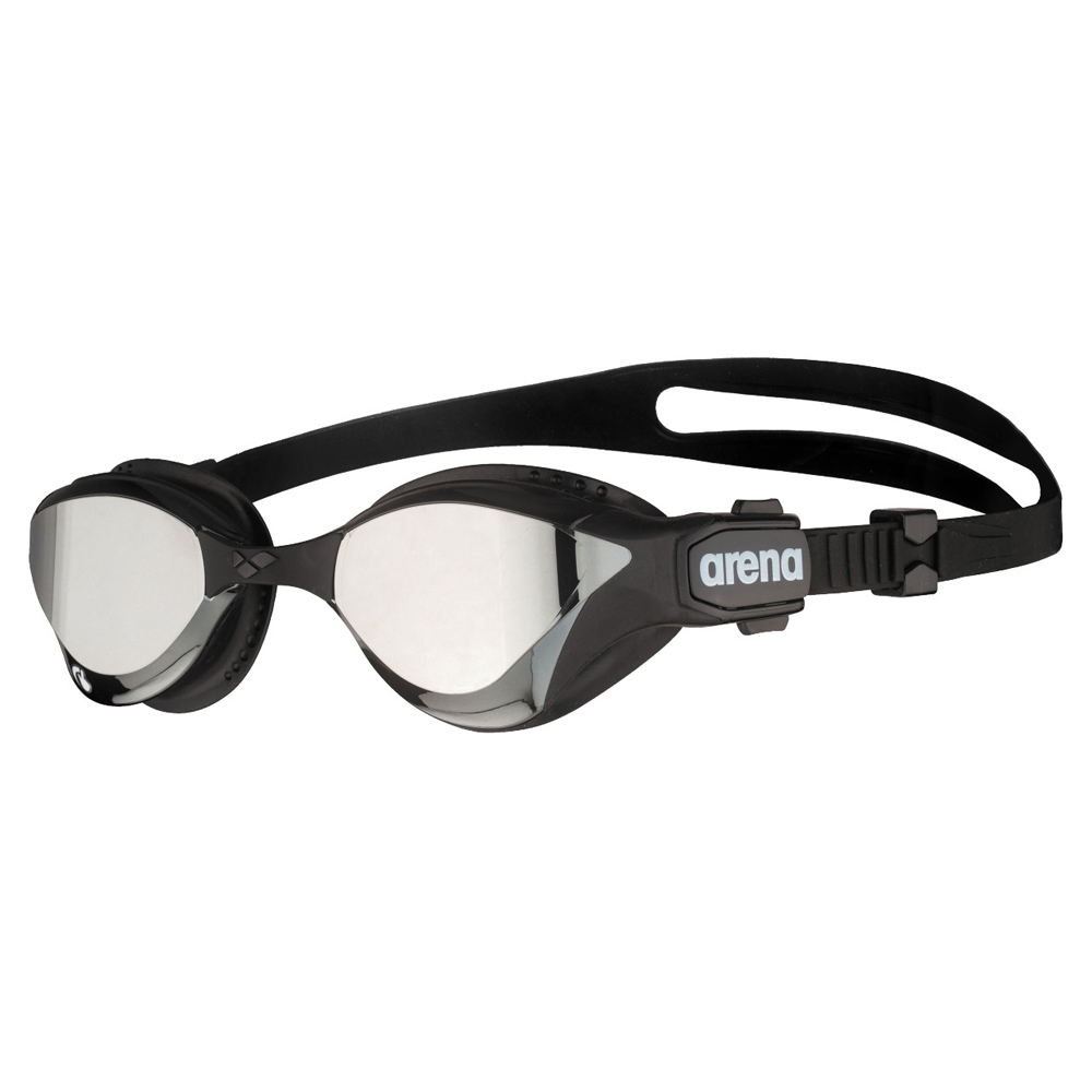 Óculos Natação  Arena Cobra Tri Mirror Swipe Preto