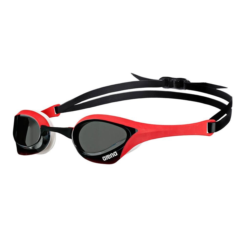 Óculos Natação Arena Cobra Ultra Fumê Vermelho