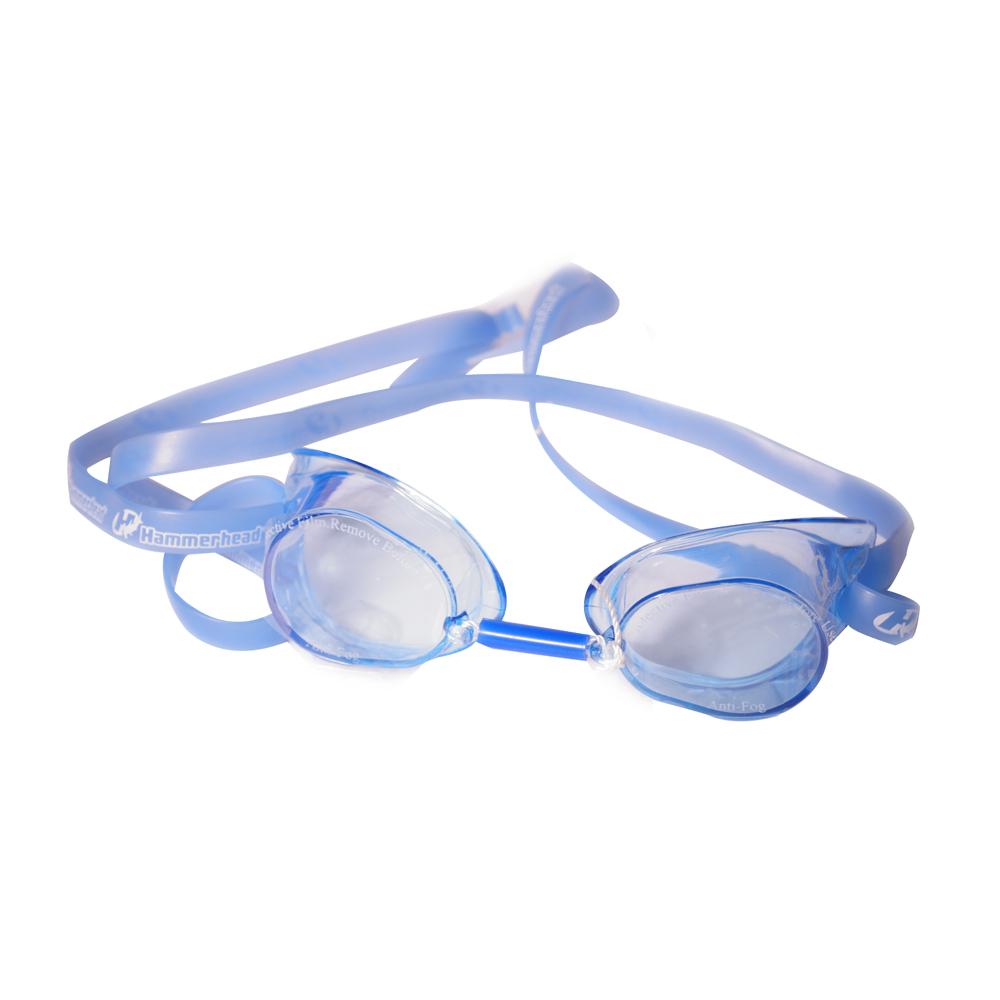 Óculos Natação Hammerhead Sueco Azul Lente Transparente