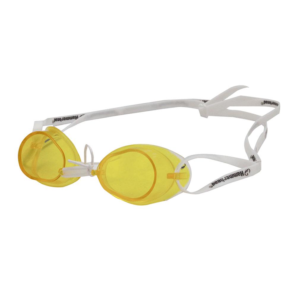 Óculos Natação Hammerhead Sueco Swedish Pro Amarelo