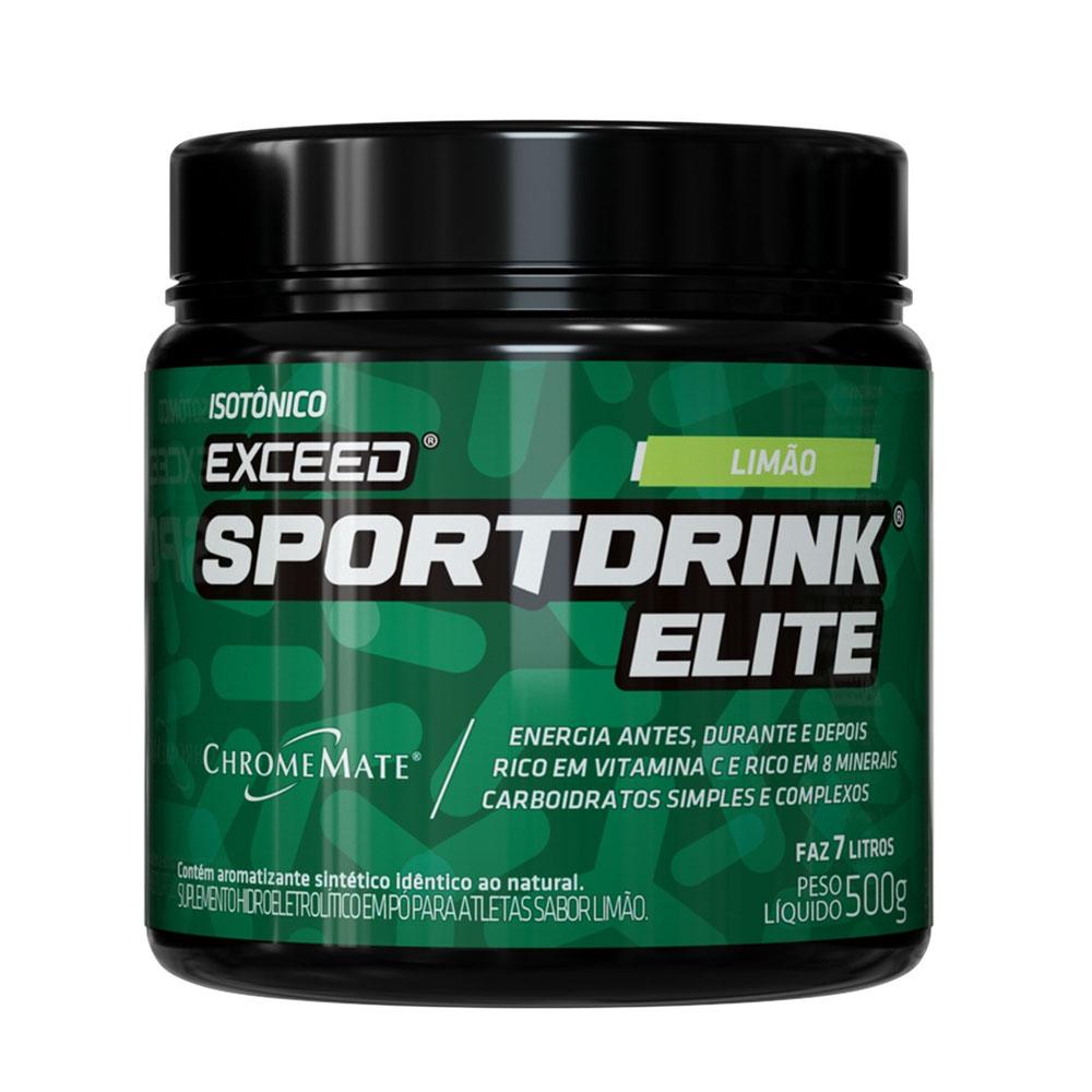 Sportdrink Exceed Limão Pote 500g