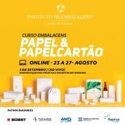 CURSO EMBALAGENS PAPEL & PAPELCARTÃO (c/livros)