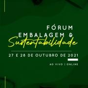 Fórum Embalagem & Sustentabilidade 2021