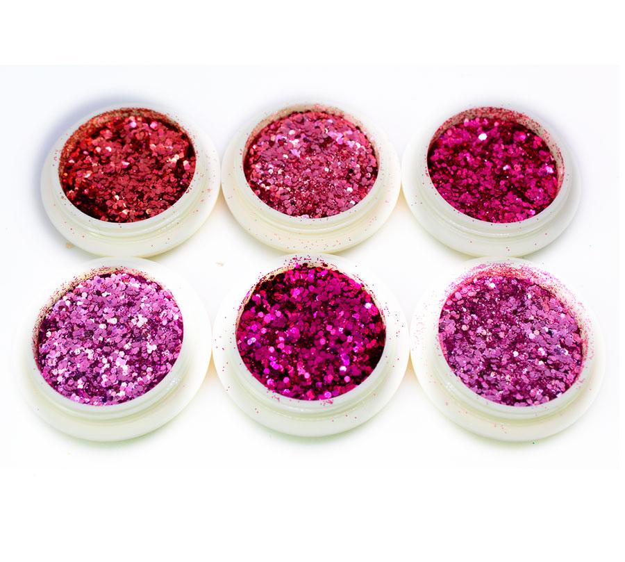Kit 6 Glitter Luxo #2