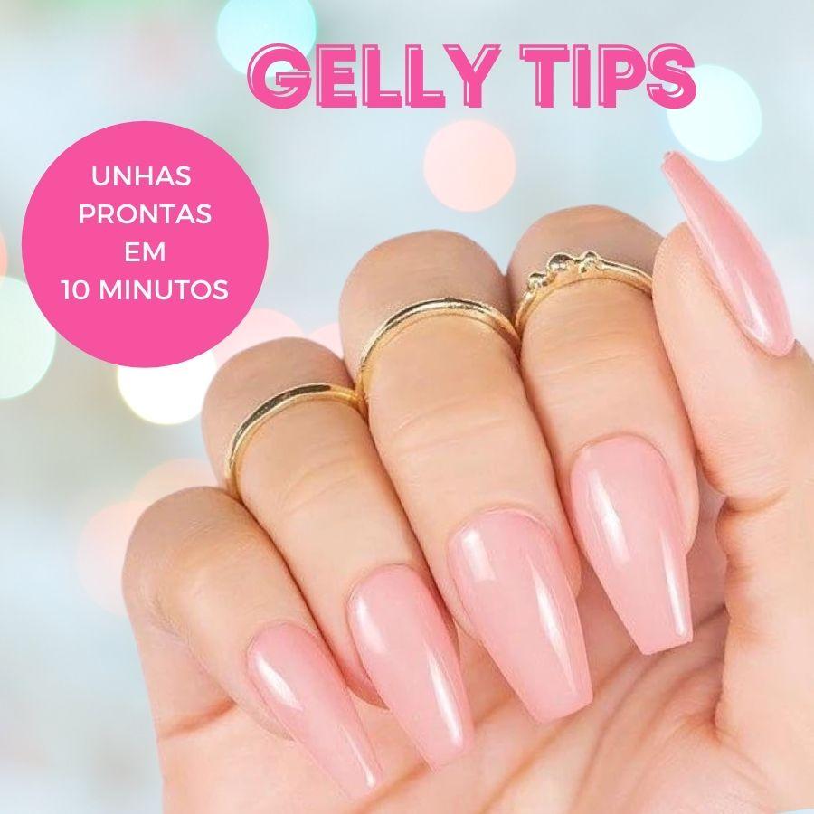 Gelly Tips - Alongamento de Unha Rápido