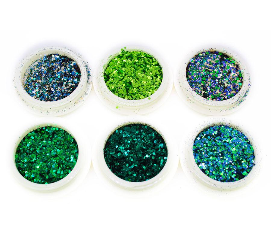 Kit 6 Glitter Luxo #3