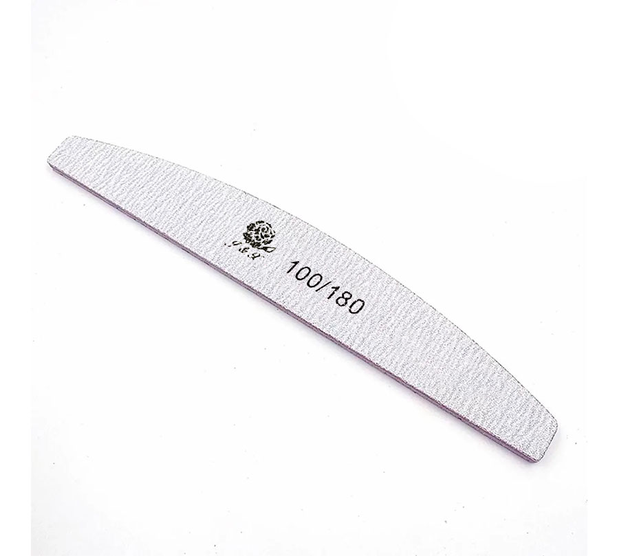 Lixa acrílica boomerang 100/180g
