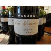 BAROLO LE GRAMOLERE RESERVA 1998=MANZONE 14,5 ALC-750ML