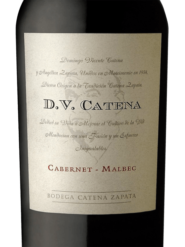 DV Catena-Cabernet-Malbec -2018 -Argentina-750ml