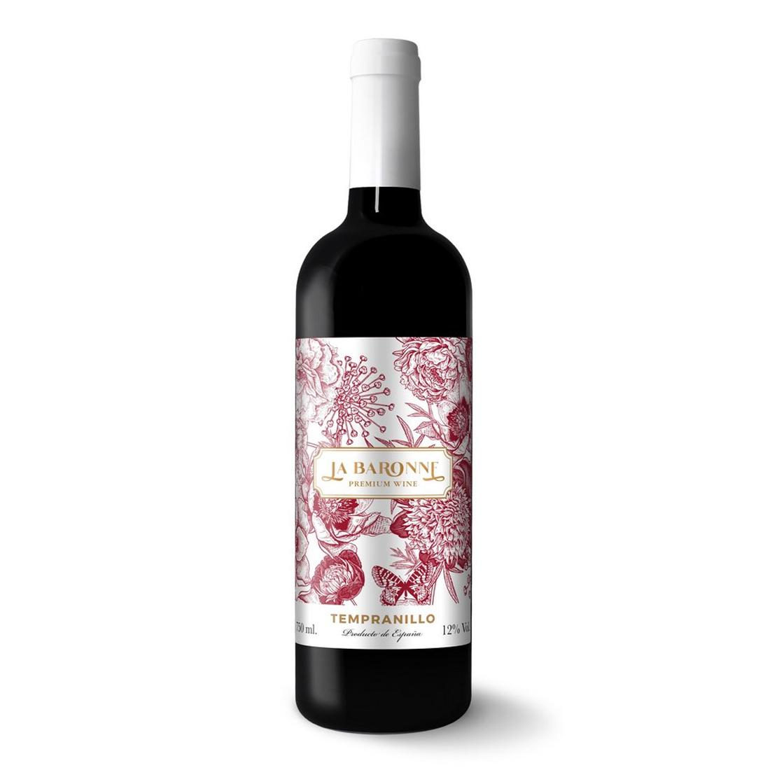 VINHO LA BARONNE ::  PREMIUM WINE  :: TEMPRANILLO 2019 :: 750ML