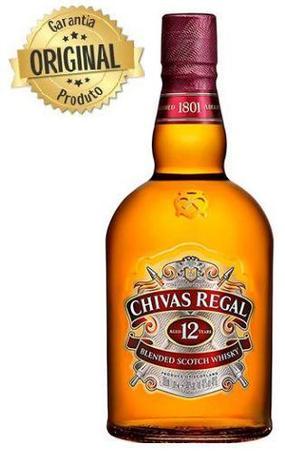 WHISKY ESCOCÊS CHIVAS REGAL - 12 ANOS - 1L