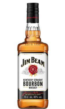 WHISKY JIM BEAM WHITE BOURBON 750ML COM SELO IPI E NFE