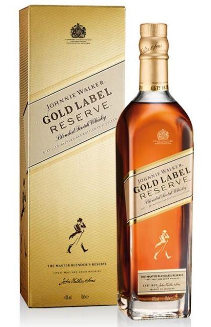 WHISKY JOHNNIE WALKER :: GOLD LABEL RESERVE :: 750ML
