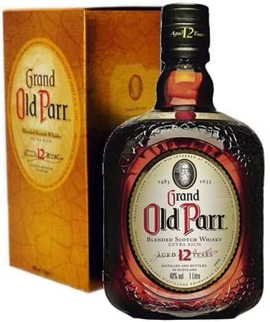 WHISKY OLD PARR :: 12 ANOS :: 750ML