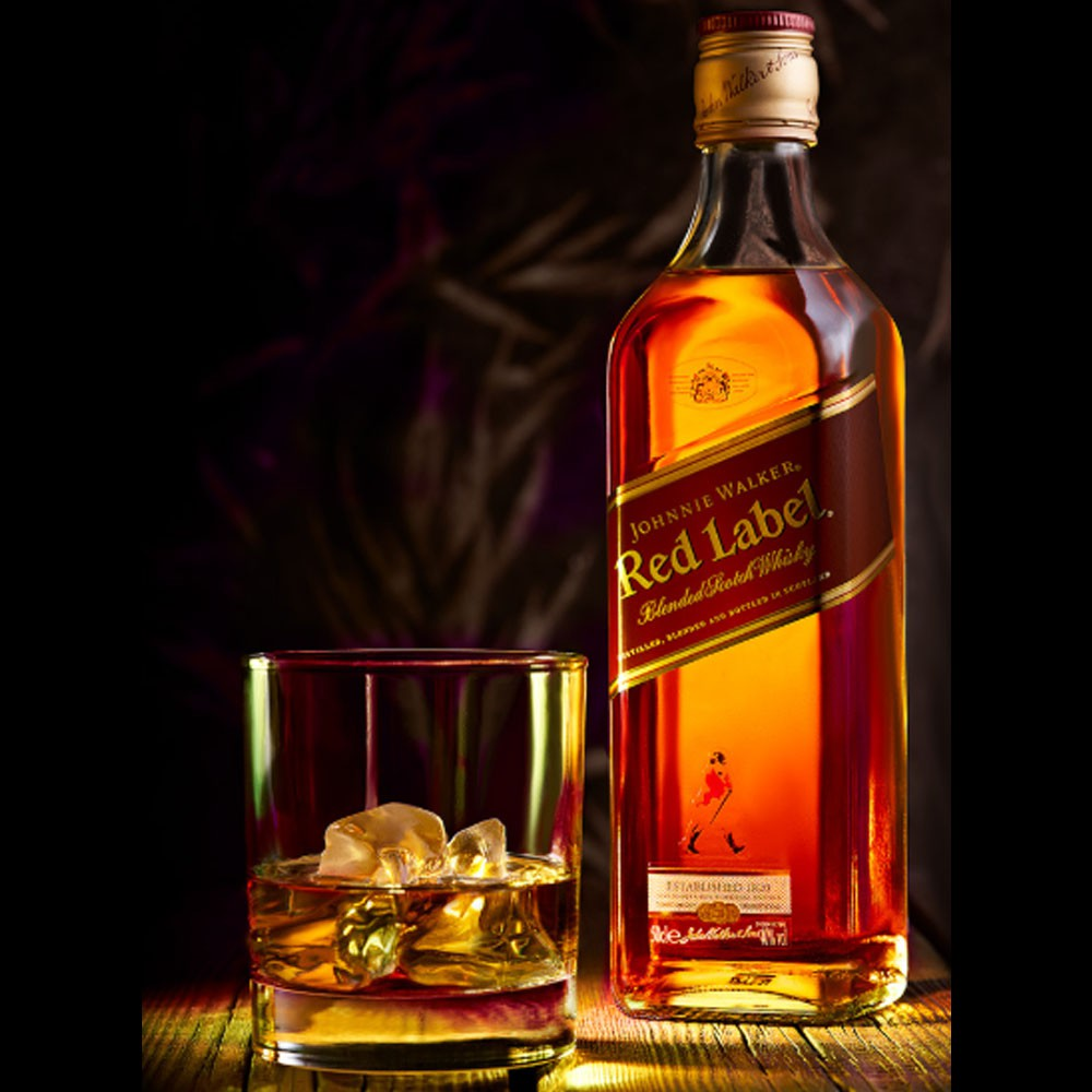 WHISKY RED LABEL 1L