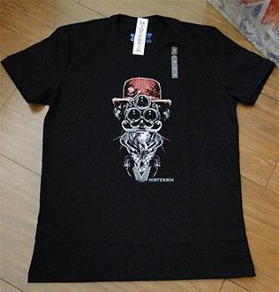 Camiseta Misterbin Chapeleiro Malha premium 100% algodão