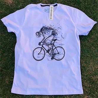 Camiseta Misterbin Bike malha premium 100% algodão
