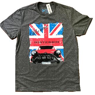 Camiseta  Misterbin Masculina Mini malha premium