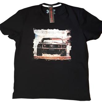 Camiseta Misterbin Mustang malha premium 100% algodão