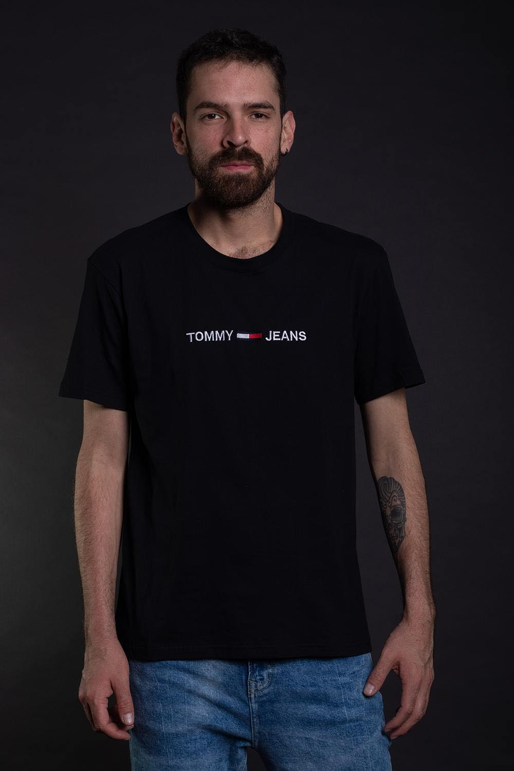 CAMISETA TOMMY JEANS SMALL LOGO