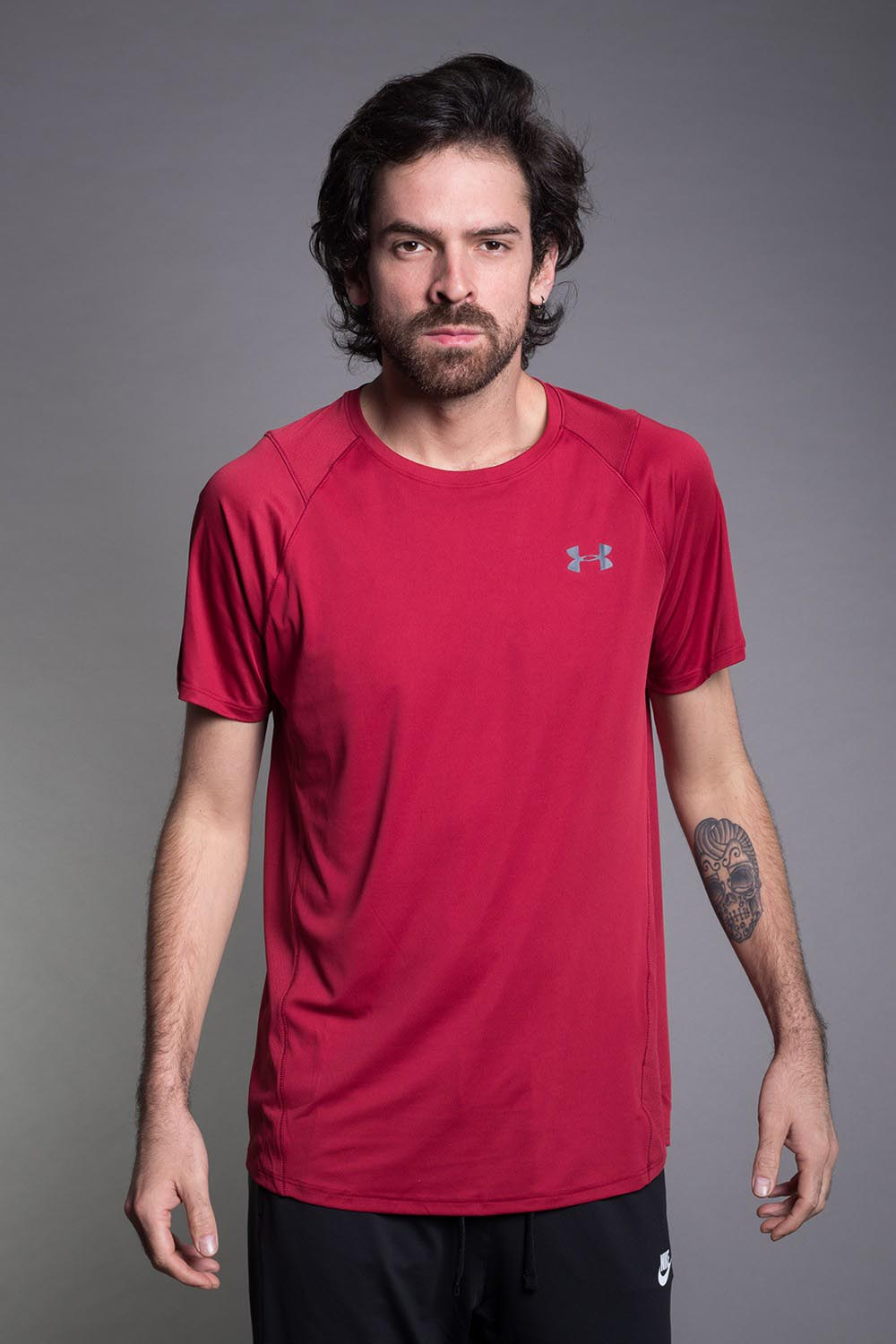 CAMISETA UNDER ARMOUR BKPGRY
