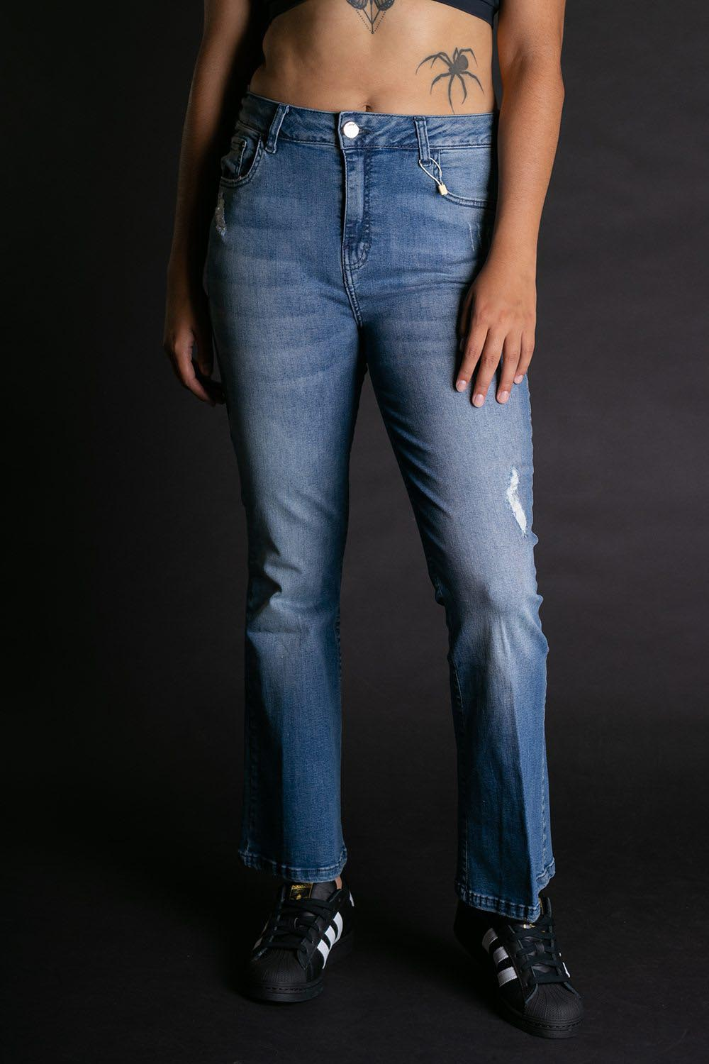 JEANS BOBSTORE SOFIA FLARE CROPPED