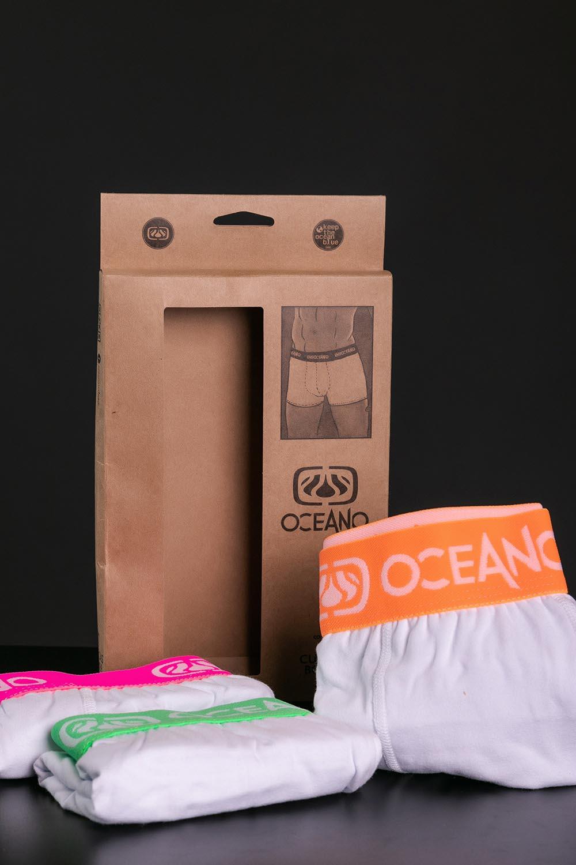 KIT 3 CUECAS OCEANO BOXER