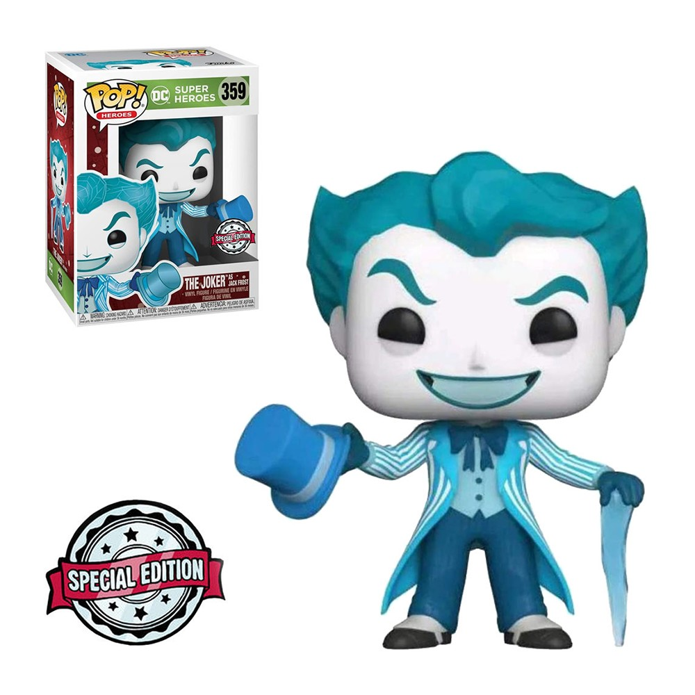 Funko Pop! Heroes DC Holiday  The Joker as Jack Frost 359 Special Edition