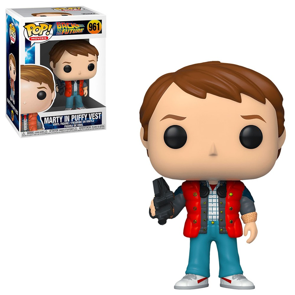 Funko Pop! Movies: Back to the Future - Marty in Puffy Vest 961