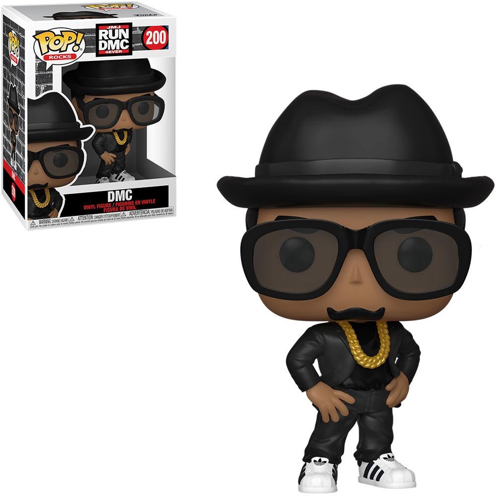 Funko Pop! Rocks: RUN DMC 4EVER - DMC 200