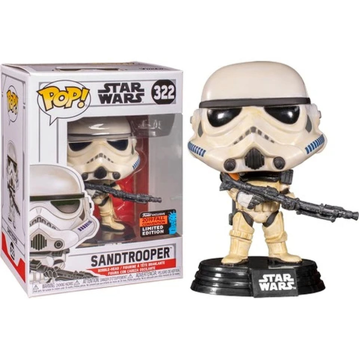 Funko Pop Star Wars Sandtrooper *Comic Nycc* 322