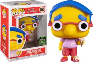 Funko Pop The Simpsons EXCLUSIVE ECCC 2020 Milhouse 765