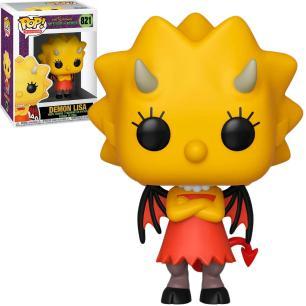 Funko Pop The Simpsons Tree House Of Horror Demon Lisa 821