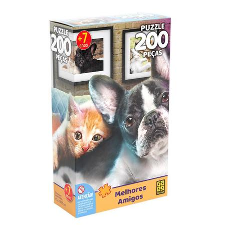 Quebra-cabeças 200 peças Melhores Amigos Puzzle