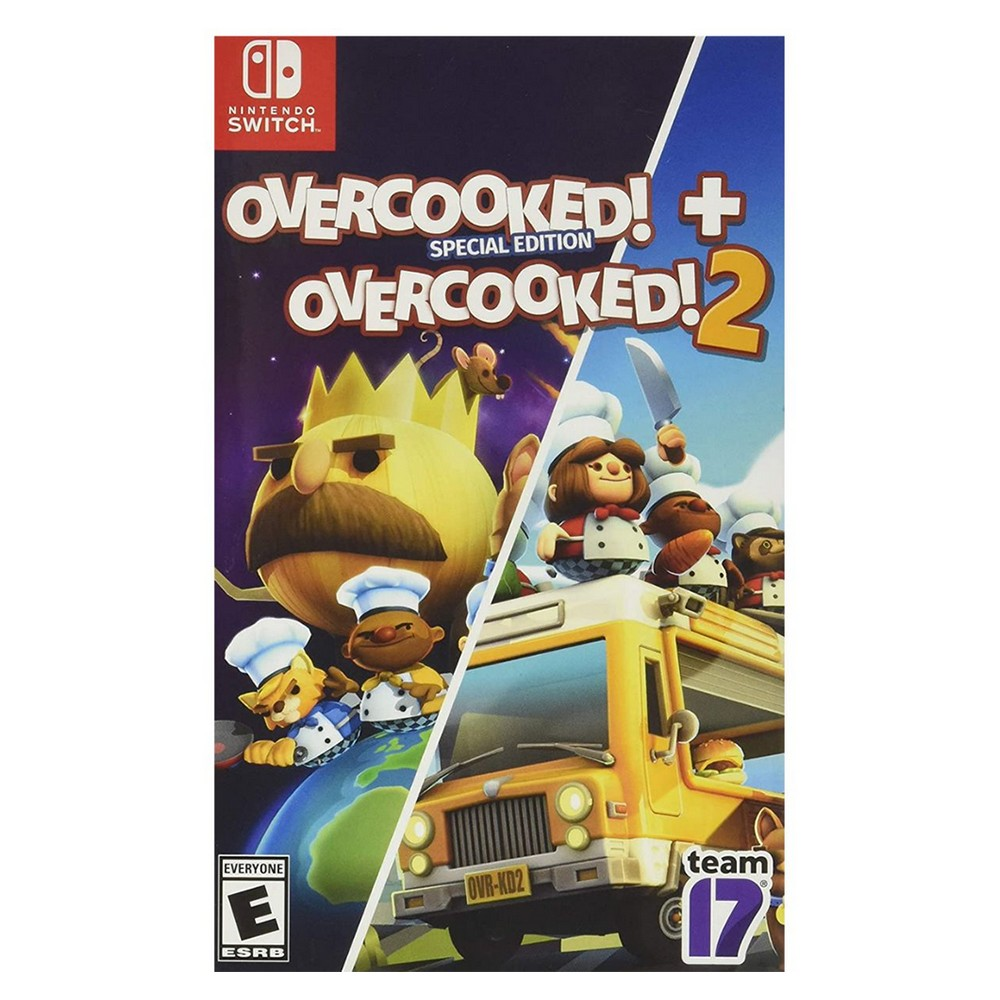 Overcooked Special Edition + Overcooked 2 - Switch
