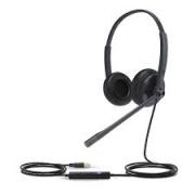 YEALINK HEADSET USB COM ALMOFADA EM ESPUMA UH34 MONO LITE