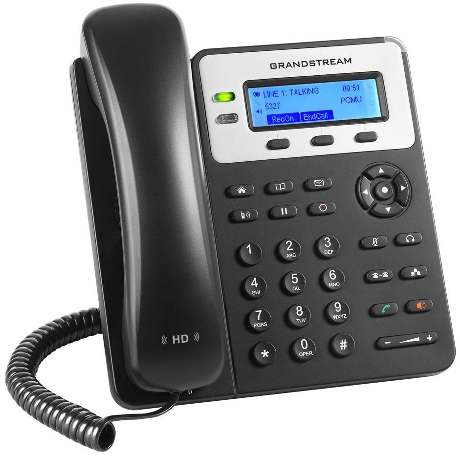 GRANDSTREAM GXP1625 - TELEFONE IP 2 LINHAS IP COM POE 10/100