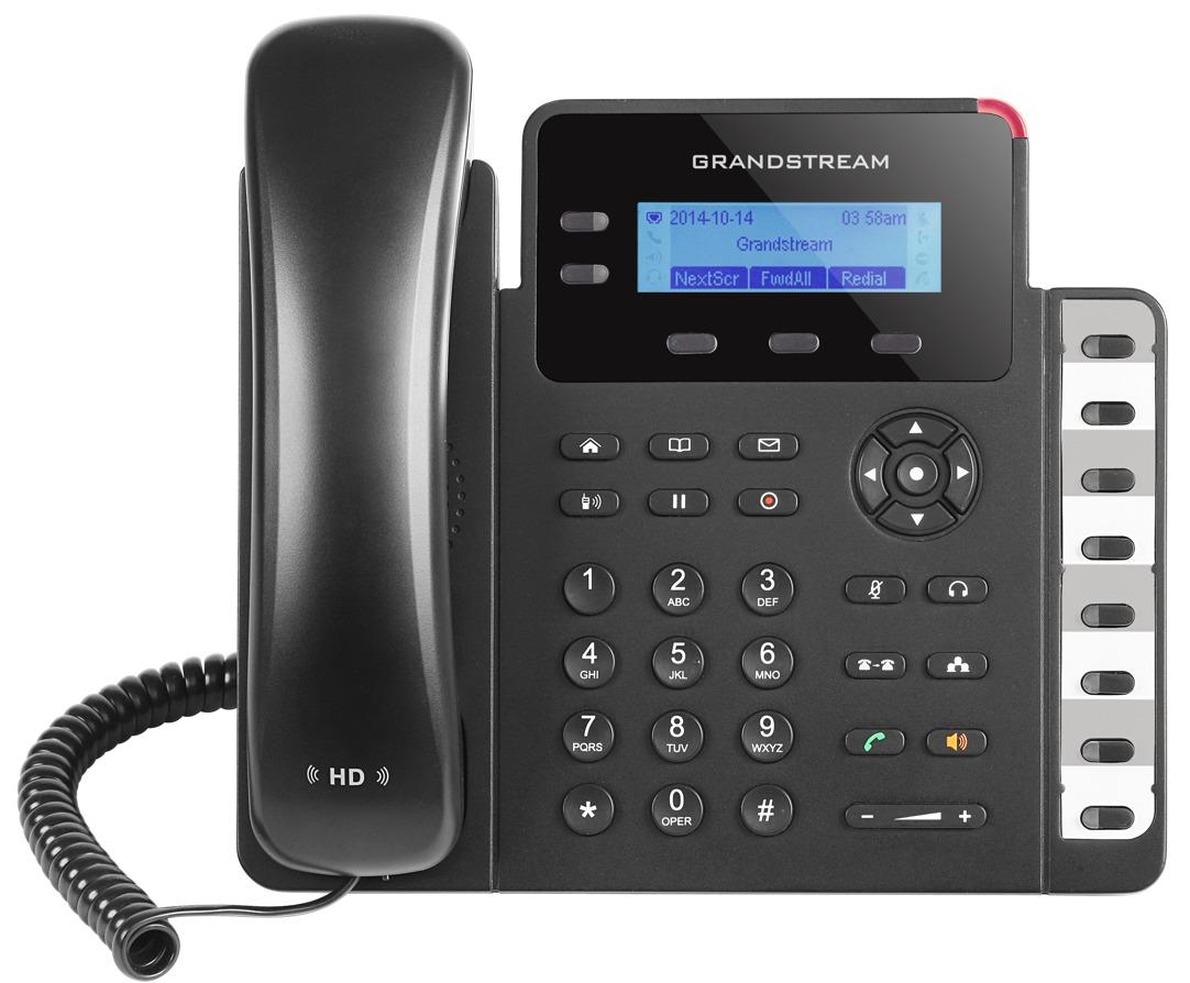 GRANDSTREAM GXP1628 - TELEFONE IP 2 LINHAS IP COM POE GIGABIT