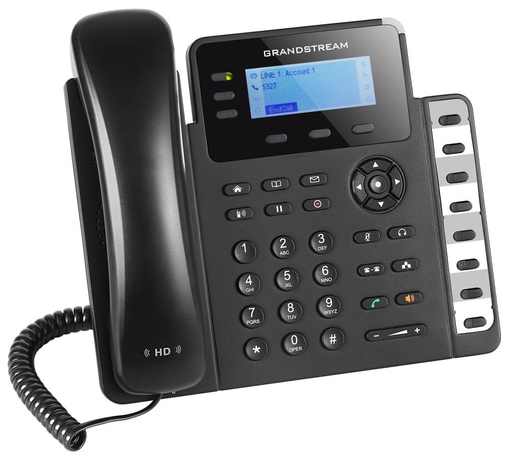 GRANDSTREAM GXP1630 - TELEFONE IP 3 LINHAS IP COM POE GIGABIT