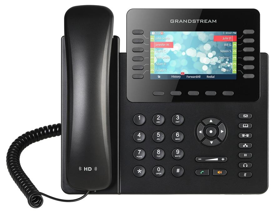 GRANDSTREAM GXP2170 - TELEFONE IP 6 LINHAS IP COM POE GIGABIT